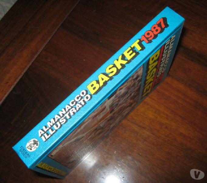 Almanacco illustraro panini basket 1987