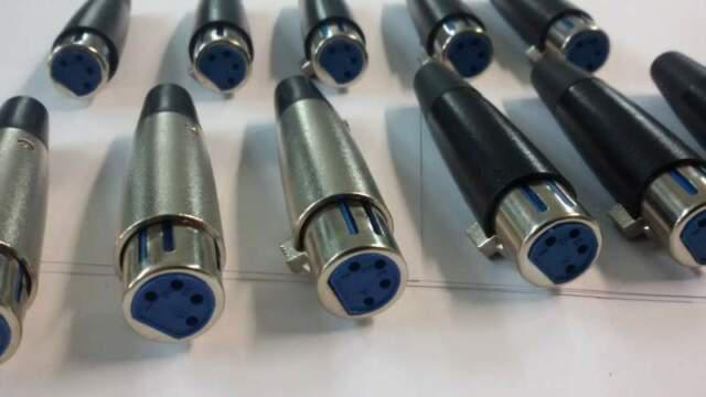 Connettori cannon 4 poli