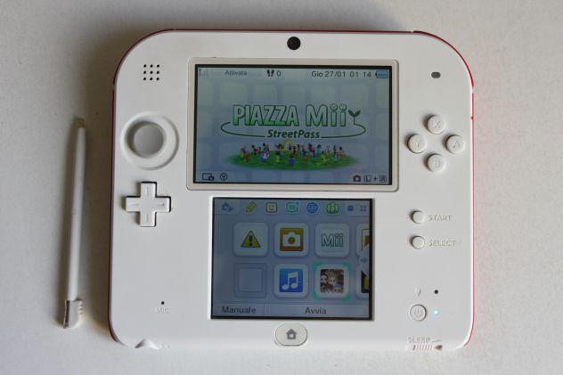 Console portatile nintendo 2ds revisionata funzionante entra