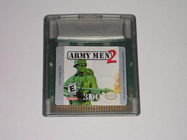 Gioco game boy color - army men 2