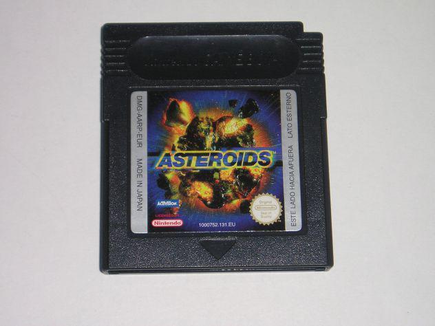 Gioco game boy color - asteroids