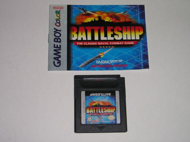 Gioco game boy color - battleship the classic naval combat