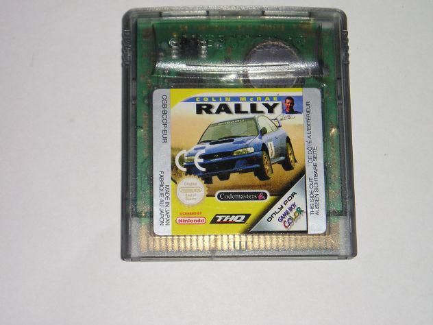 Gioco game boy color - colin mcrae rally