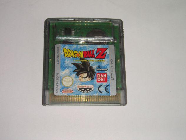 Gioco game boy color - dragonball z i leggendari super