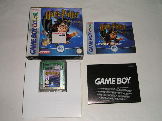 Gioco game boy color - harry potter e la pietra filosofale