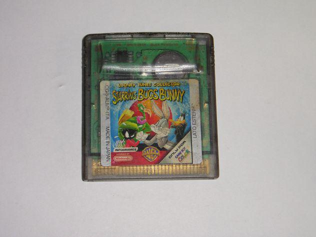 Gioco game boy color - looney tunes collection starring bugs