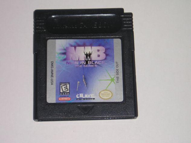 Gioco game boy color - men in black the series