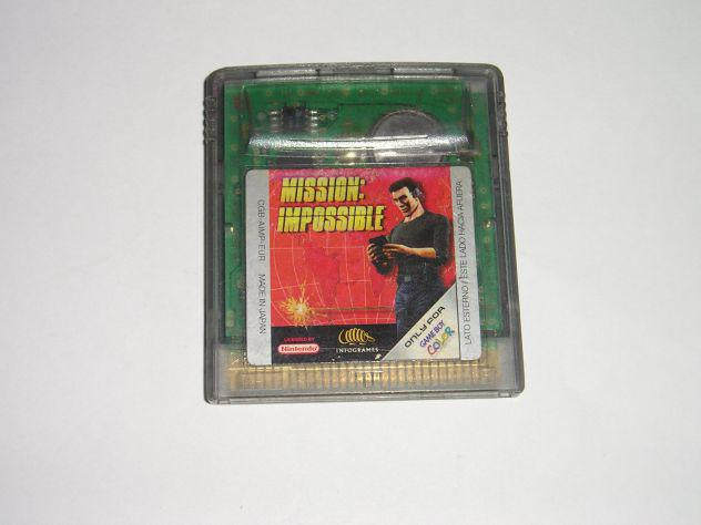 Gioco game boy color - mission impossible