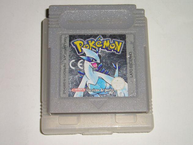 Gioco game boy color - pokemon versione argento