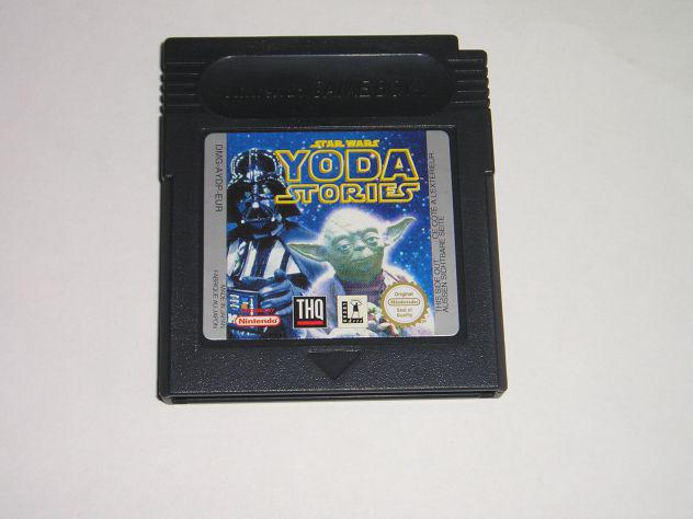 Gioco game boy color - star wars yoda stories