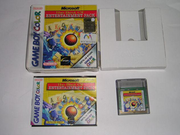 Gioco game boy color - the best of entertainment pack