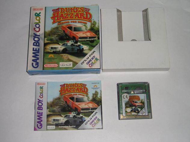Gioco game boy color - the dukes of hazzard racing for home