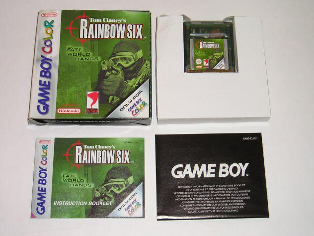Gioco game boy color - tom clancy's rainbow six the fate of