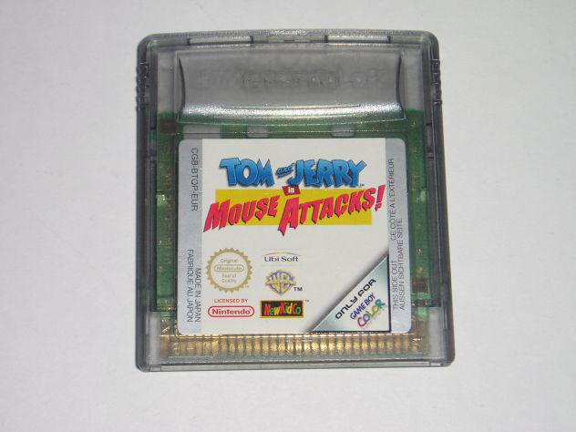 Gioco game boy color - tom & jerry in mouse attacks!