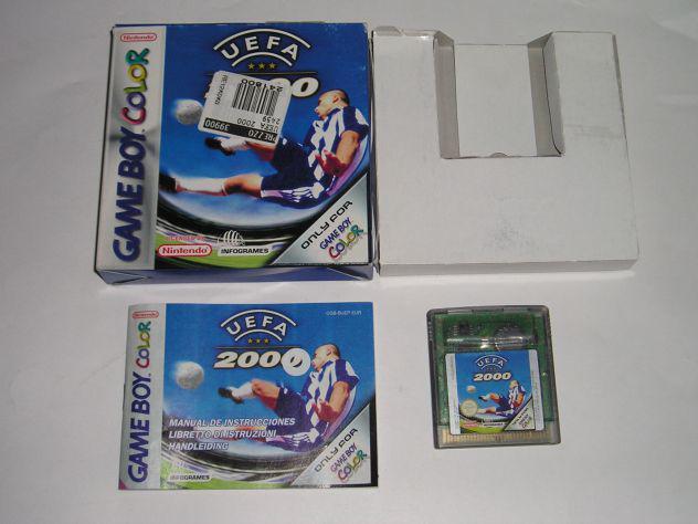 Gioco game boy color - uefa 2000