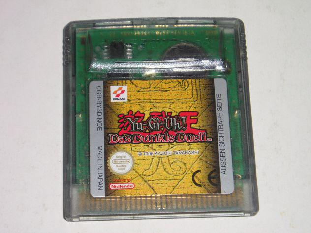 Gioco game boy color - yu-gi-oh ! das dunkle duell