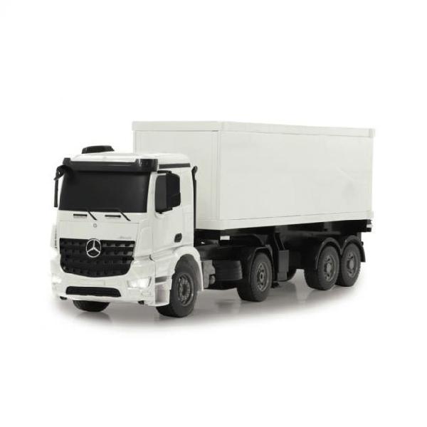 Jamara camion con contenitore rc mercedes-benz arocs 2,4 ghz
