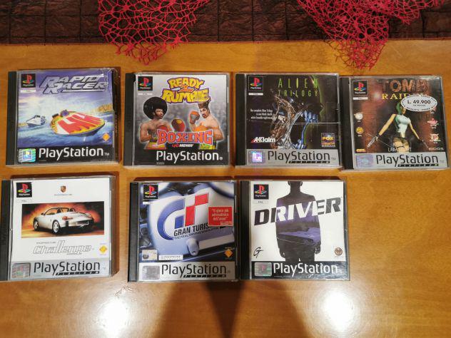 Lotto 7 giochi playstation psx ps1 tomb raider gran turismo