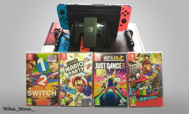 Nintendo switch + 4 giochi