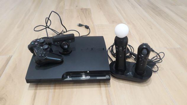 Playstation 3 + accessori + giochi