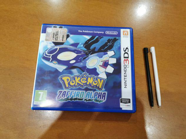 Pokemon zaffiro alpha nintendo 3ds