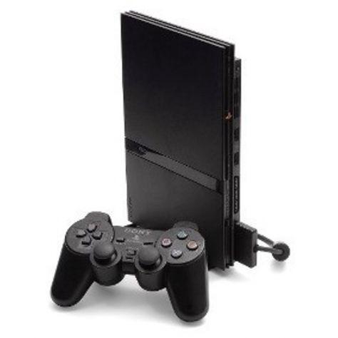 Sony play station 2 slim nera