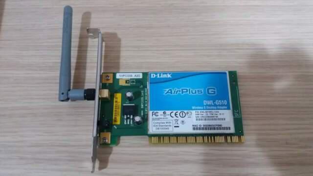 Scheda wi-fi per desktop d-link dwl-g510 airplus g