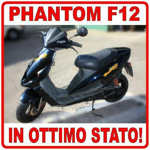 Scooter 2 t motorino malaguti f12 50 phantom nero ottimo