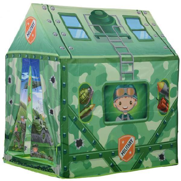 Tenda casetta per bambini 93x69x103 cm benzoni mimetica