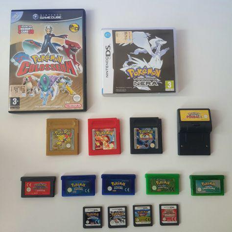 Videogiochi vari pokemon nintendo