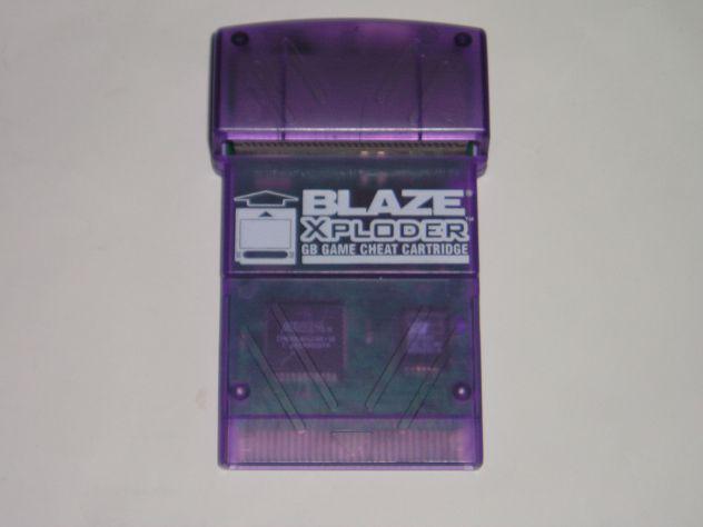 Xploder blaze codici catridge/trucchi per game boy, game boy
