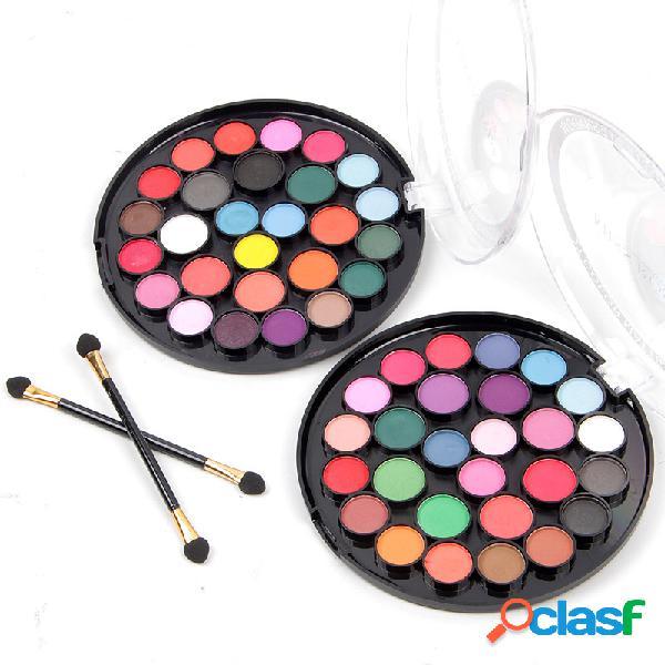Palette di ombretti 27 colori paletta di ombretti opachi di lunga durata shimmer eye matte