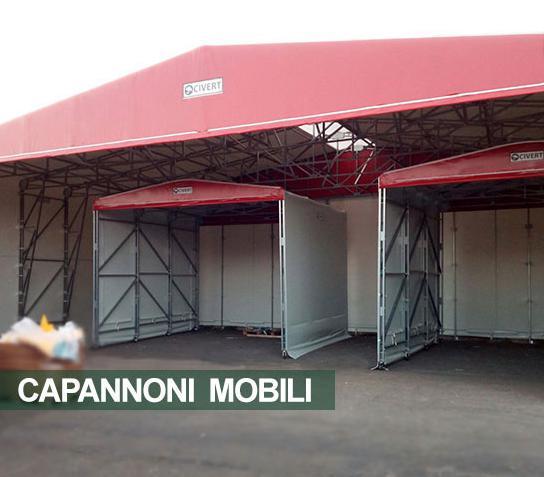 Capannoni mobili / coperture / chiusure industriali