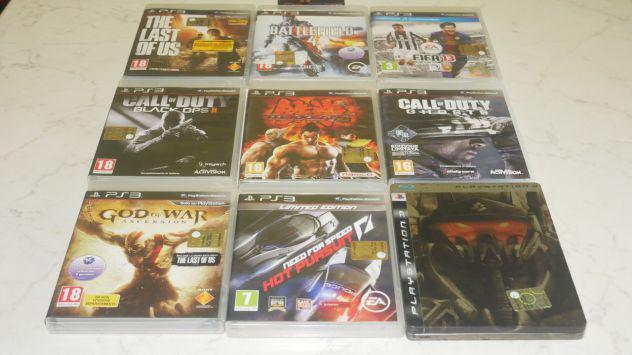 Giochi playstation ps3 ita completi tekken, gow, cod,