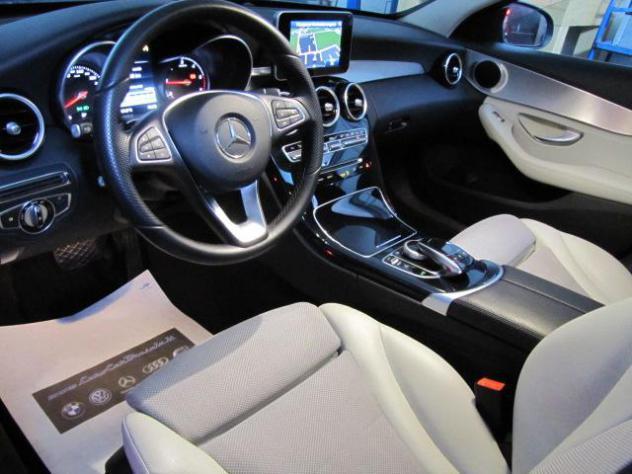 Mercedes c 250 d s.w. automatic -tetto panorama - bi-xeno -