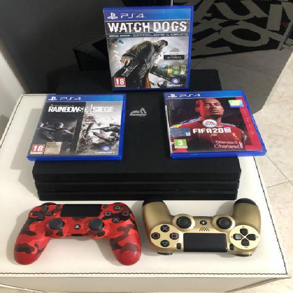 Playstation 4 pro 1tb nuova