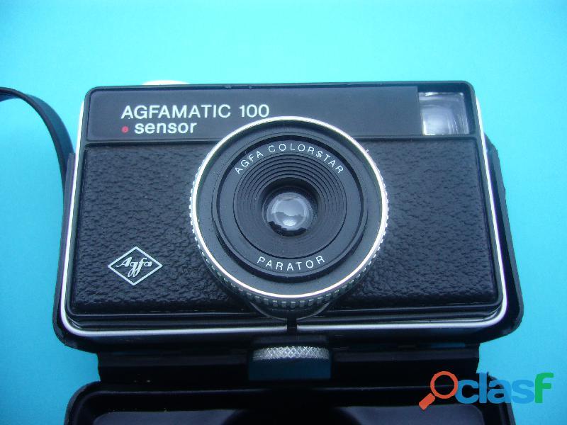 Macchina fotografica vintage anni 70 alfamatic 100 sensor