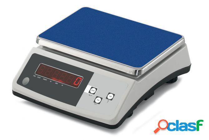 Bilancia elettronica - portata 30 kg - scala di precisione 1 g