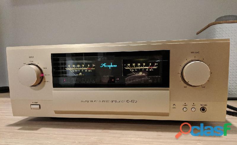 Amplificatore 220v accuphase e 470 telecomando.