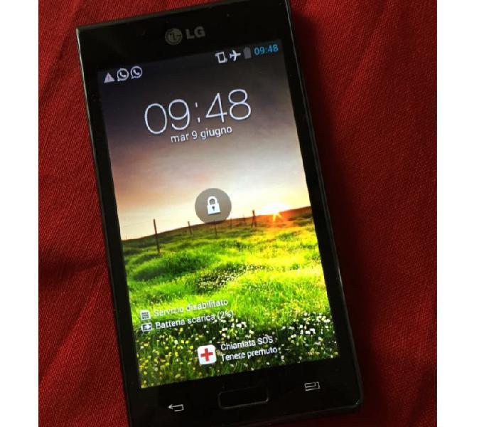 Telefono smartphone lg – p700