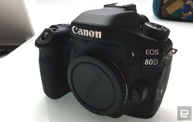 Canon eos 80d 24.2mp+sigma obiettivo 18-300mm-f/3.5-6.3 af