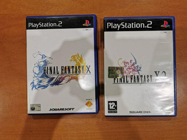 Giochi play station 2 ps2 final fantasy x e final fantasy