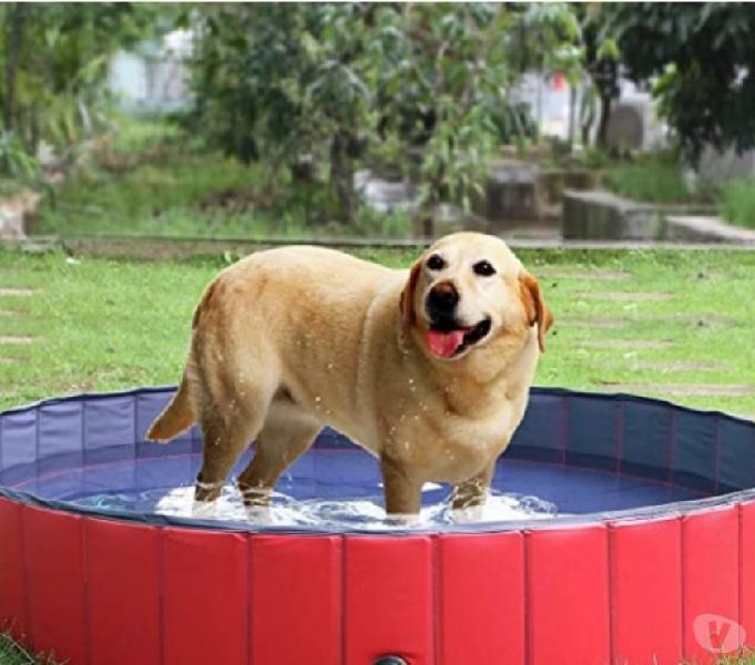 Piscina per cani, gatti, bagno per cani, piscina pieghevole