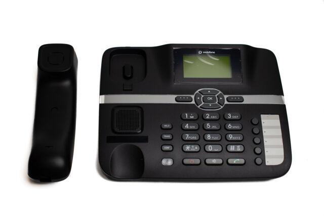 Telefono da scrivania huawei f610 colore nero nuovo