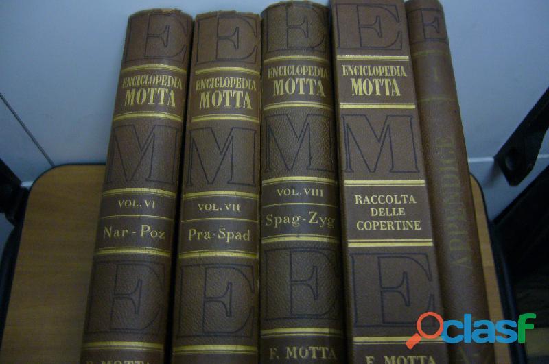 Enciclopedia motta 8 volumi