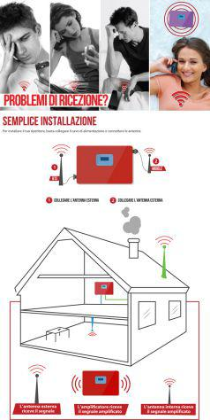 Amplificatore segnale 4g 3g per telefoni cellulari