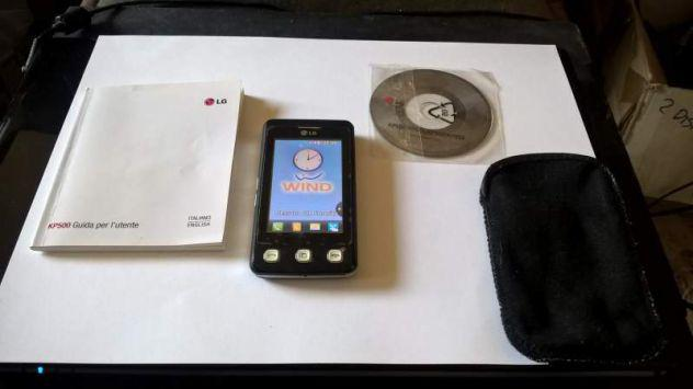 Cellulare smartphone lg kp500 cookie brand wind