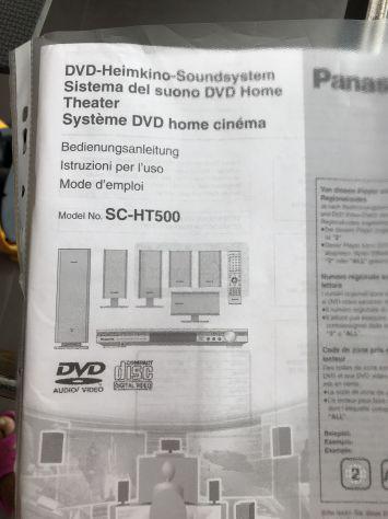 Home cinema panasonic ht-sc 500