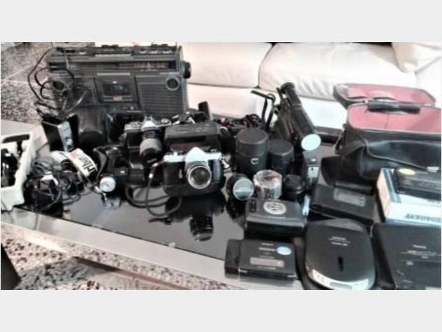 Macchine fotografiche, video, audio ed usato