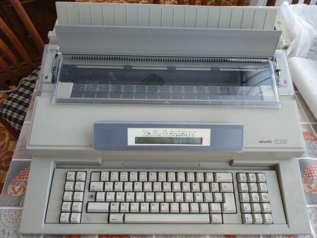 Macchina da scrivere olivetti et 2500 elettronica